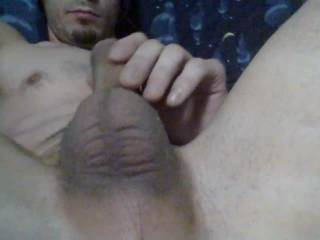 Selfshot of me stroking out a huge creamy load after watching zoig ...my whole profile with 50 vids and 50 pics got erased somehow...epic vids I don't have now :( guess I gotta make more ;)
