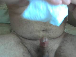 Very Nice shaved cock and balls ! ! Great load too ! ! !