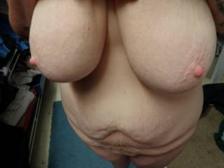 id spray a couple ropey cumshots across those big tits, after i finish deep-dicking her pussy and fucking her throat