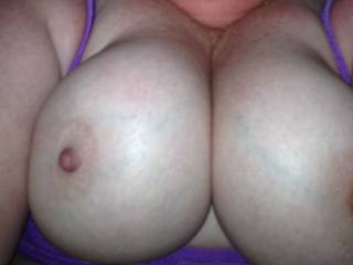 Wife took this at work... They are amazing tits
