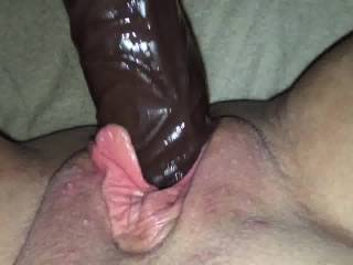 May I? I'm think you might let me suck and lick your clit while pumping that in and out of your juicy pussy. What do you say?