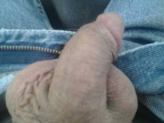 Lick and suck those big balls, take that thick cock in my mouth and feel it growing hard, head pushing into my throat
