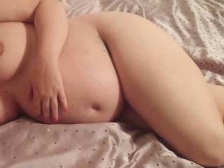 Seductive pregnant wife