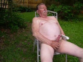 Summer is here, time to get outdoors naked and play!