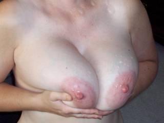 love cum on my tits