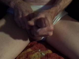 A short (57 seconds) video of my soft cock cumming before it could even get hard. A nice load (if I do say so myself) and it felt just as good as if it was my rock hard cock. Any comments on a little, soft dick cumming?