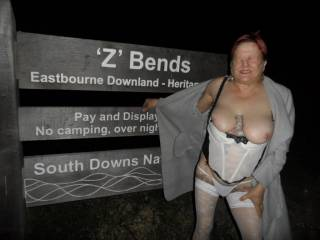 Hi all another night trip  dirty comments welcome mature couple