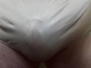 Wife\'s silk panties