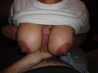if you ever need an extra cock to paint those beautiful nipples white, you have a volunteer right here!