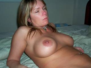 ex wife after getting a boob job...