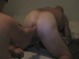 would love to see hubbys huge cock in your ass :) pounding away awesome fuck hole
