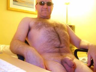Any ladies like my hairy chest?