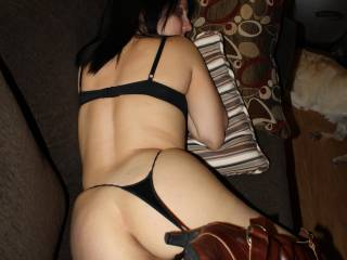 Super horny ass love the boots! you are horny babe!!