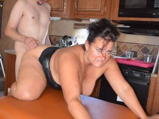OMG I want to fuck your wife.  If you ever come to the east coast I want to eat that sweet pussy out for hours