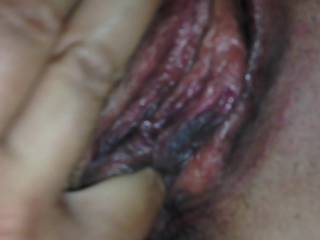 I put three loads in her that night. This is after the first. I love eating cream pies. I have yet to eat her out after another cums in her. Any volunteers ??