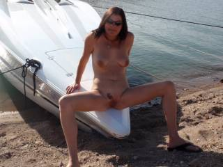 Girl you have a rockin' good body! I'm glad you enjoy nudity. I'm admiring the view!