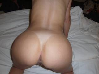 Yummy...that hot ass begs to be mounted.