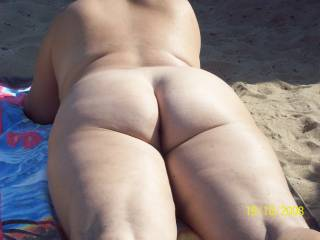 That's one thick big sexy ass my black hard cock would look and feel good fucking you from behind doggie style Mmmmmmmmmm