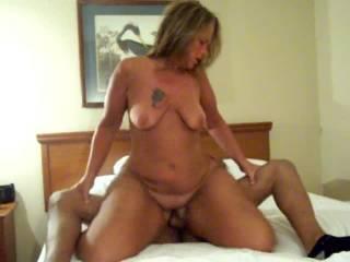 Slut wife riding Bbc