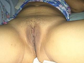 Her pussy gets wet everytime i ask her to imagine some stranger fucking her and she cum lots easily.