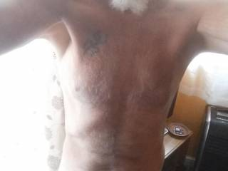 My naked body and cock
