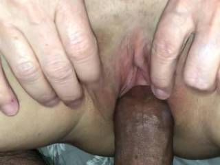 Love when she spreads her pussy for me to watch!