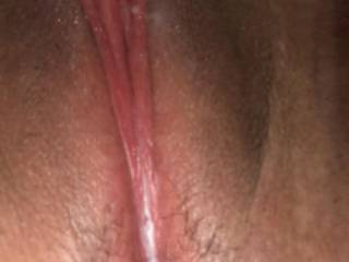 all the compliments got me convinced to put out a picture of my dripping wet pussy