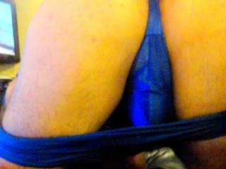 Another one of mike bent over showing off his ass on his birthday..what do you think of it??