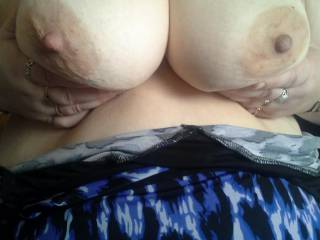 My wifes beautiful breasts