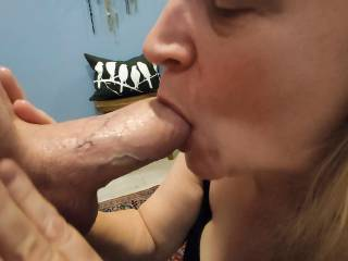 This married woman wants to suck your cock until you cum all over her face.