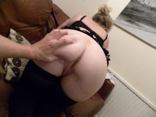 Another shot of my bum from our cam show