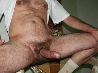 big hairy boner got me stiff buddy!!!!