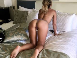 Any hung local guys that can come stuff my tiny wife?
