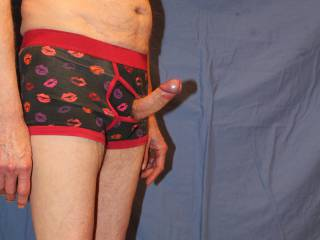 I am so ready for us to fuck but I will control myself until I have removed the undies.