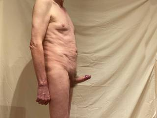 Maybe you could see how far you can make 'Him' shoot using only your hand, or you could make 'Him' cum using only your mouth...or you may have a better idea