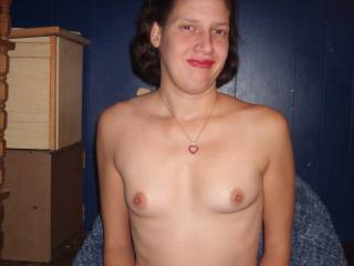 Your tits are just perfect dont change And would love to have all kinds of fun with you