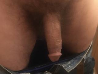 Waiting for someone to notice my cock hanging out  See what they do when they do notice  What would you do ?