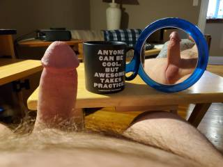"""""""In a reflective mood"""" Saturday Morning Naked Coffee"""