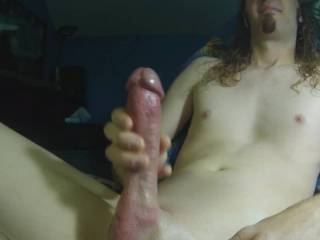 Edging my throbbing cock for you