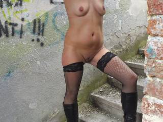 love being nude outdoors