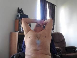 I like to hangout naked