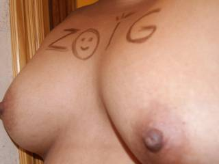 perfect would love to suck those amazing brown nipples mmm my favorite