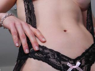 And you look hot as hell in that sexy kinky lingerie.  We would love making you feel sexy with some kinky sex.  K and G