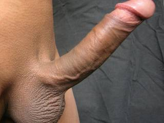 I have decided to put you in our very exclusive, 'Best of....' collection, as being the Best shaved cock & balls pic I have seen so far.  Brilliant stuff.  The only way you could top this pic would be to do something similar but with cum dripping down & off the end of your magnificent cock!  MMMMMM!!
