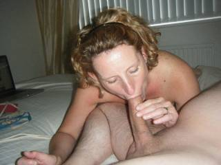 Love to cum in your sexy mouth, or all over that pretty face!!