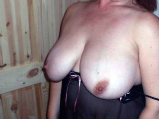 Love it when you show us your magnificent tits hun xx