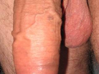 Big thick hanging cock = happy pussy