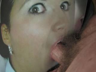 deepthroat cum pic eyes beauty
