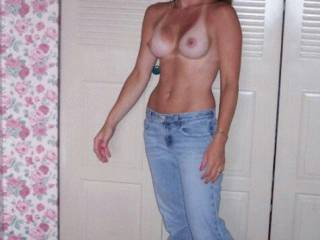 Oh Yes ... Hiphuggers ....Venom In Denim Very Hot and Sensuous Woman
