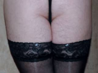 Close of my firm, spankable bottom.  Would you spank me?  Pleeeease!!!